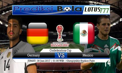 Prediksi Pertandingan antara Germany vs Mexico 30 Juni 2017
