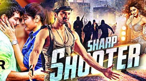 Poster Of Sharp Shooter 2016 Hindi Dubbed  300MB   Free Download Watch Online 300mb.cc