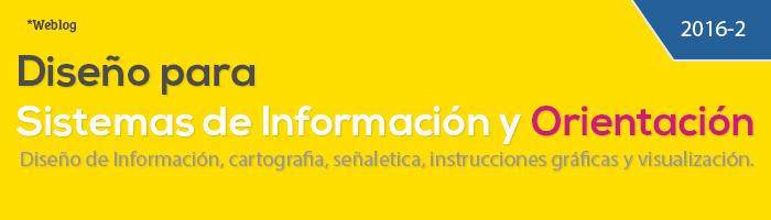 Diseño para sistemas de orientación e información