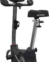 Schwinn 170 Upright Exercise Bike's 4-way adjustable saddle, image