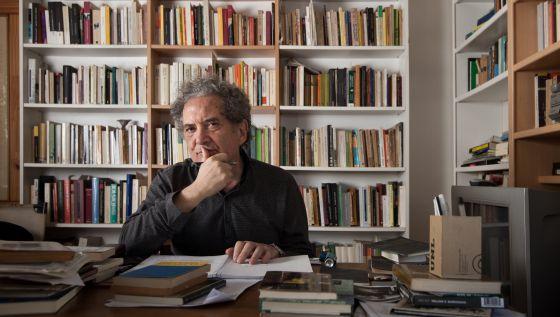 Ricardo Plglia en la BUMU.