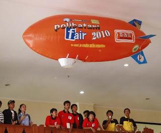 Balon zeppelin juga bisa dibranding sesuai dengan pesanan anda