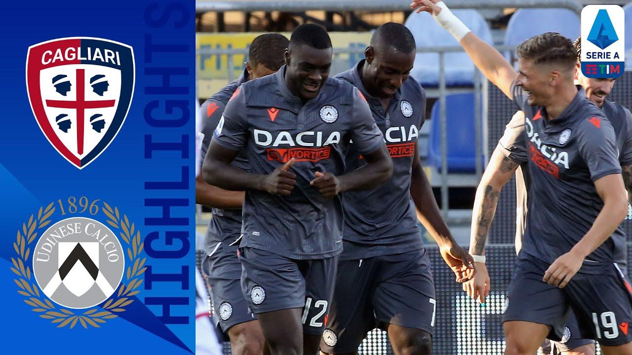 Video Cagliari 0-1 Udinese: Bàn thắng sớm của Stefano Okaka