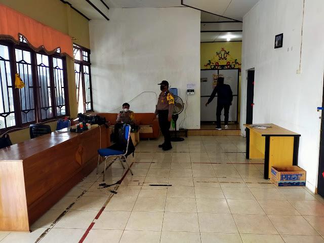 Personel Polsek Kurun,  Sambang KPU dan Bawaslu