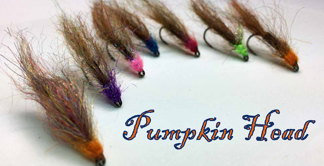 Pumpkin Head Mohair Leech