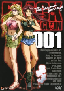 Black Lagoon: The Second Barrage Castellano