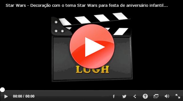 Decoração-Star Wars-festa infantil