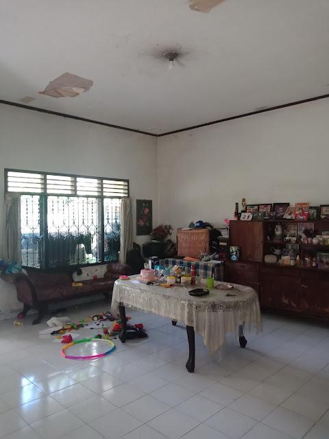 Ruang makan rumah dengan luas tanah 800 m2 di Jl. Makmur Kp. Lalang Medan Helvetia Sumatera Utara