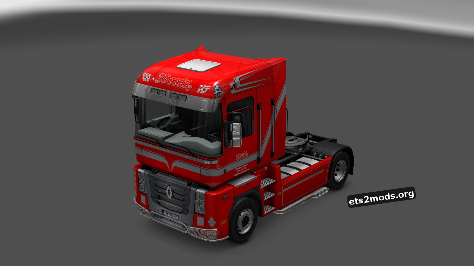 Weeda Skin for Renault Magnum