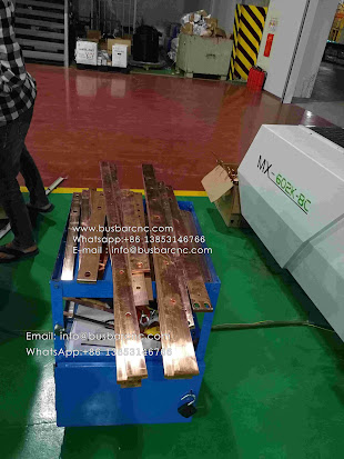 busbar cutting bending machine
