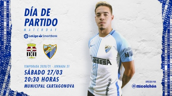FC Cartagena - Málaga, alineaciones posibles