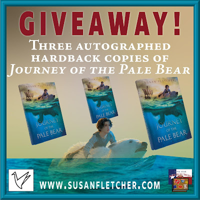 Journey of the Pale Bear giveaway graphic