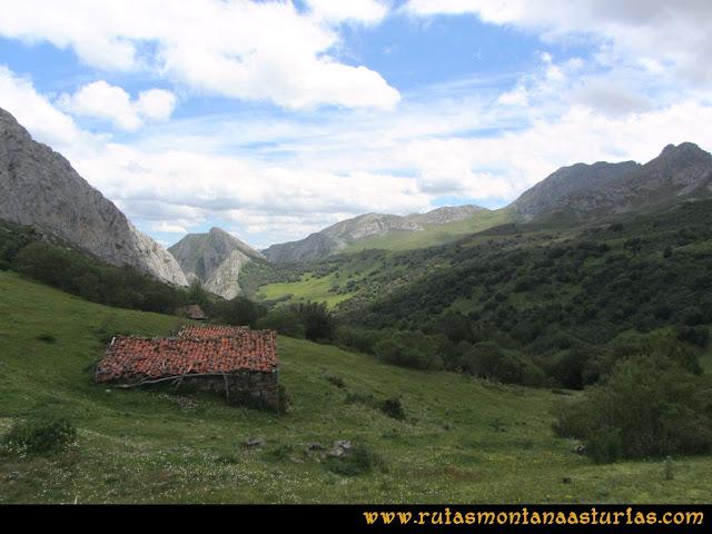 Ruta Lindes - Peña Rueda - Foix Grande: La Cardosina