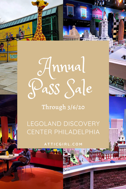 LEGOLAND Discovery Center Philadelphia Ultimate Annual Pass Sale