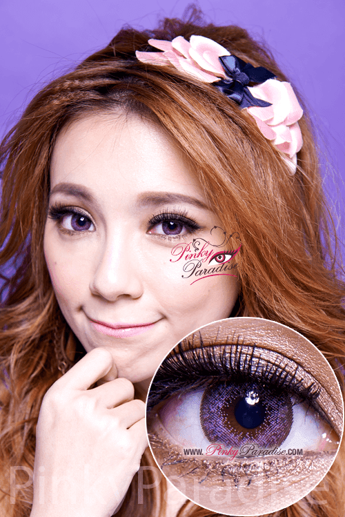 Mi Dali Extra Violet Toric Circle Lenses (Colored Contacts)