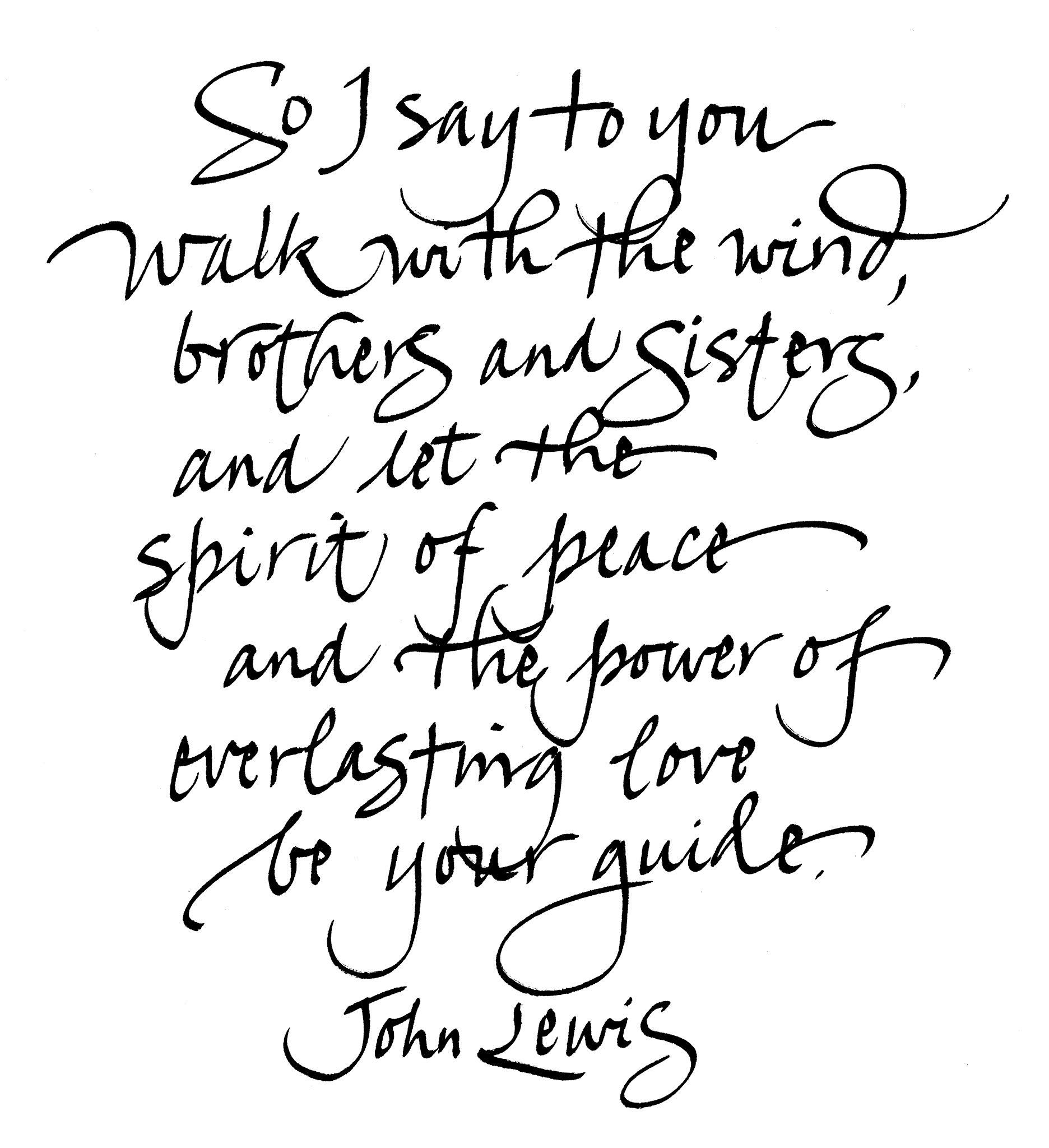 susangaylord.com: For John Lewis