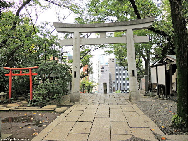 Toriis del Santuario Atago en Tokio
