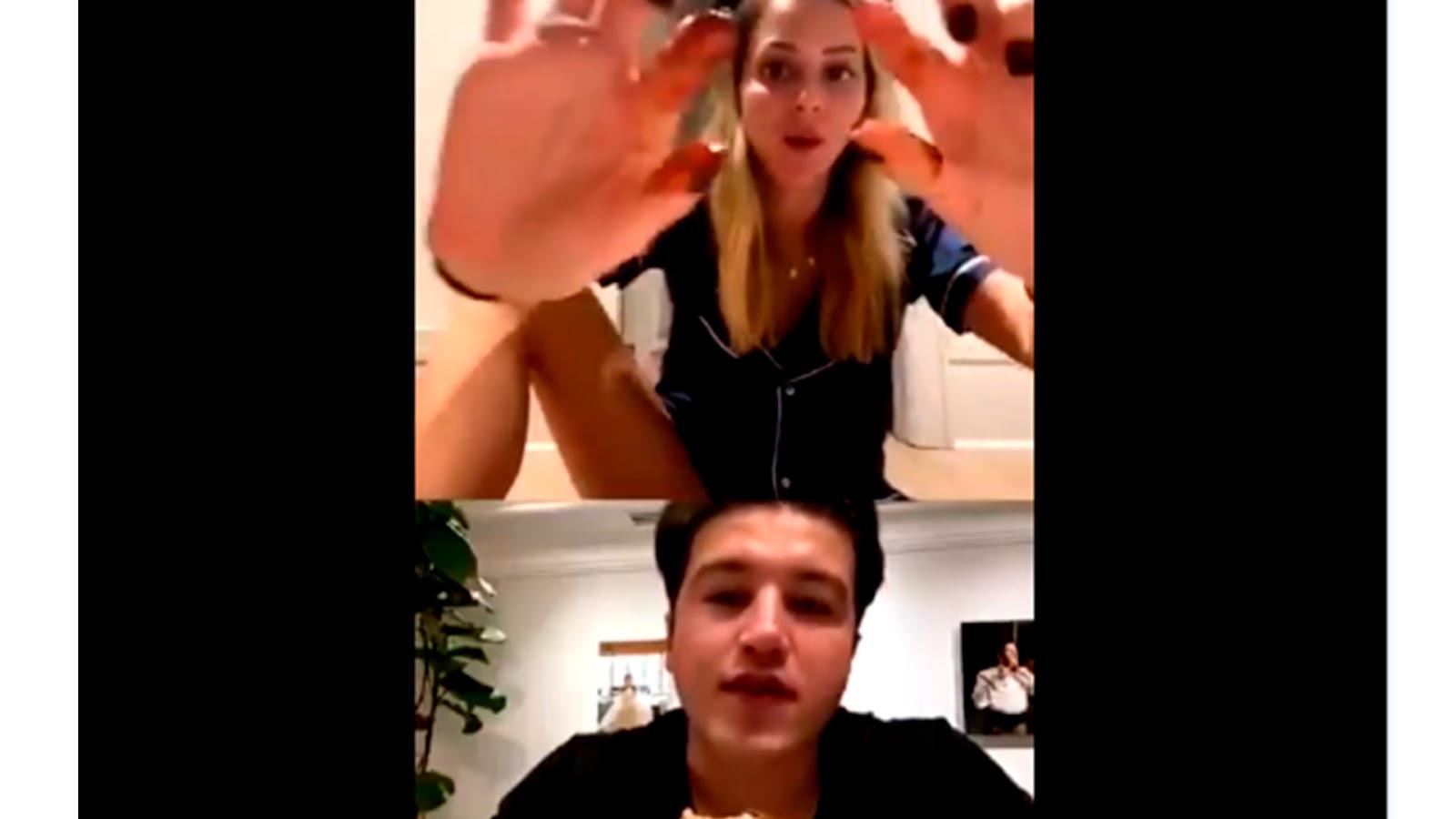 """VIDEO: Tachan de machista a Samuel García; reclama a su esposa por """"enseñar de más"""" durante transmisión en vivo"""