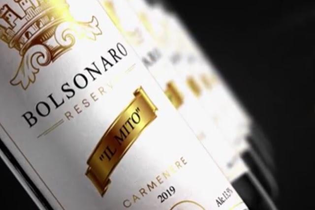 """Marca desenvolve vinho com o nome de Bolsonaro: """"Il Mito"""""""