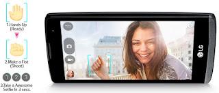 Gambar LG Leon smartphone Android Lollipop murah