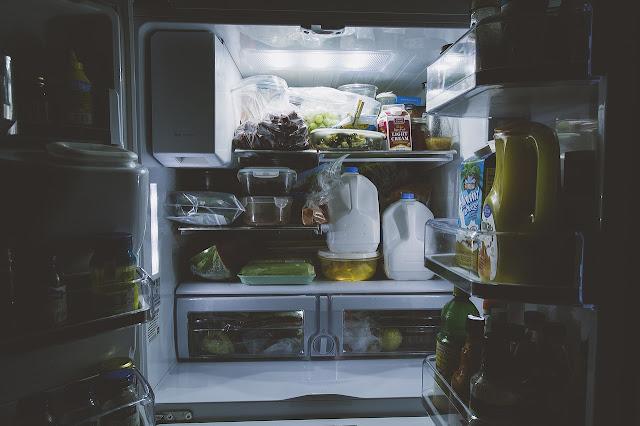 isi dalam kulkas