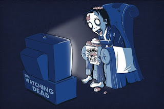 Stop watching TV like Zombie