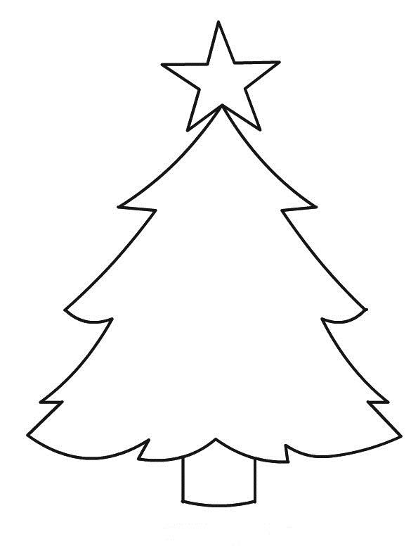 Albero Di Natale Disegno Da Colorare.Albero Di Natale Da Scaricare
