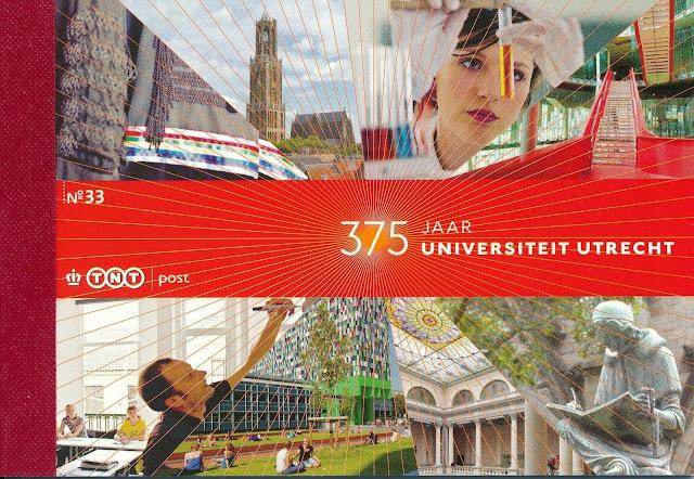Netherlands 2011 Prestige Booklet PR33 Utrecht University