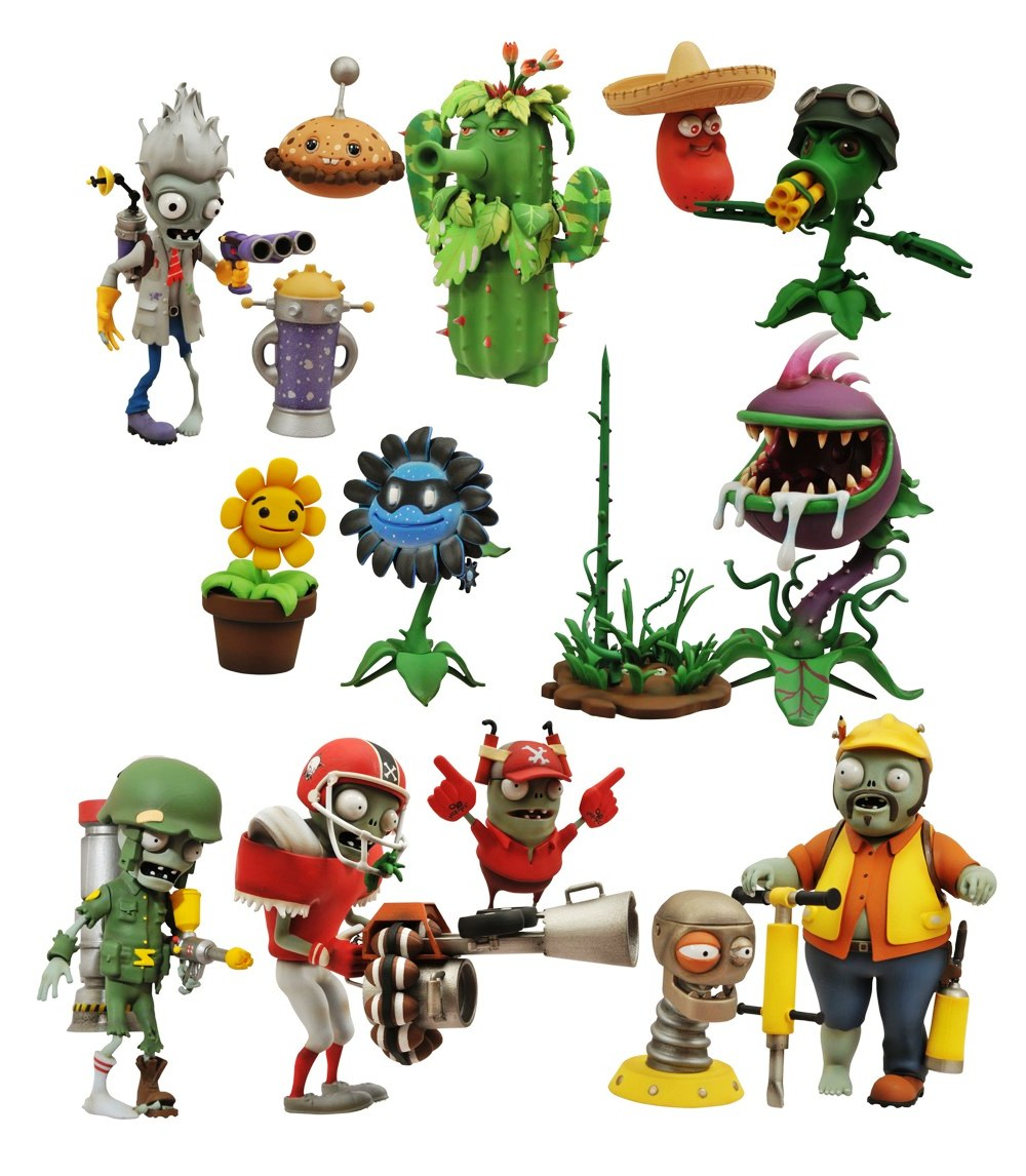 Plants Vs Zombies Garden Warfare Toys