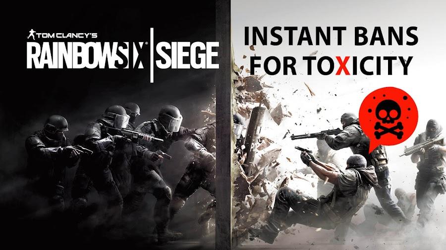 rainbow six siege toxicity ban