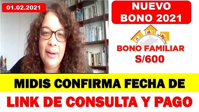 Bono 600 soles: ¿Cuando estara DISPONIBLE el LINK de CONSULTA?