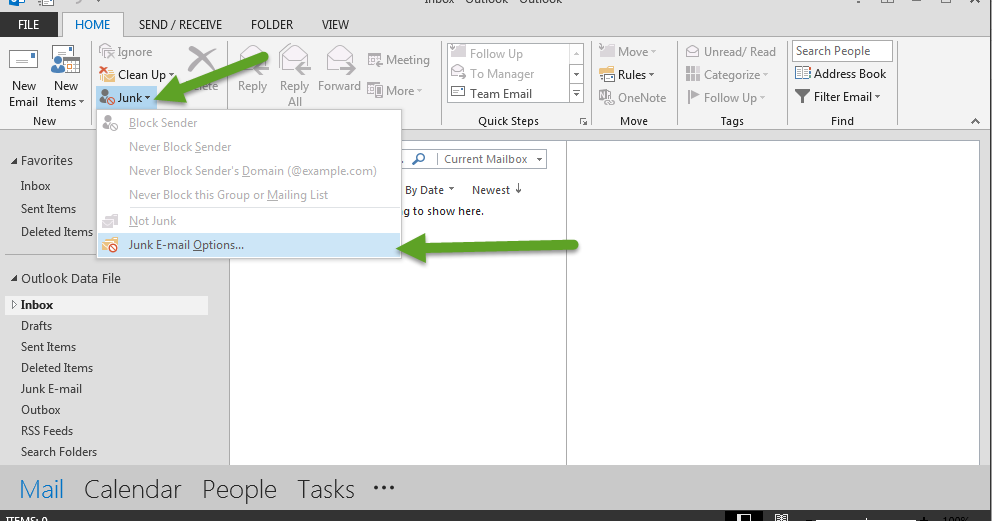 how to add safe sender in outlook