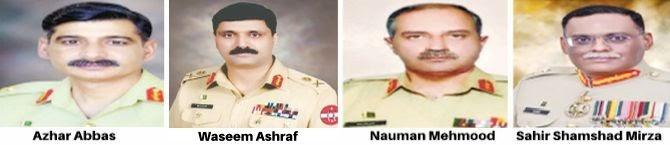 Major reshuffle In Pakistan Army, Lt Gen Azhar Abbas Made Chief of General Staff