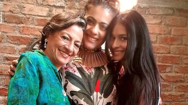 काजोल ने माँ तनुजा और बहन तनीषा के साथ पोस्ट की तस्वीर, कहा कि वे तीन मस्किटियर हैं