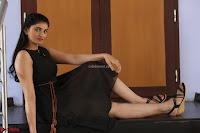 Khanishka new telugu actress in Black Dress Spicy Pics 10.JPG
