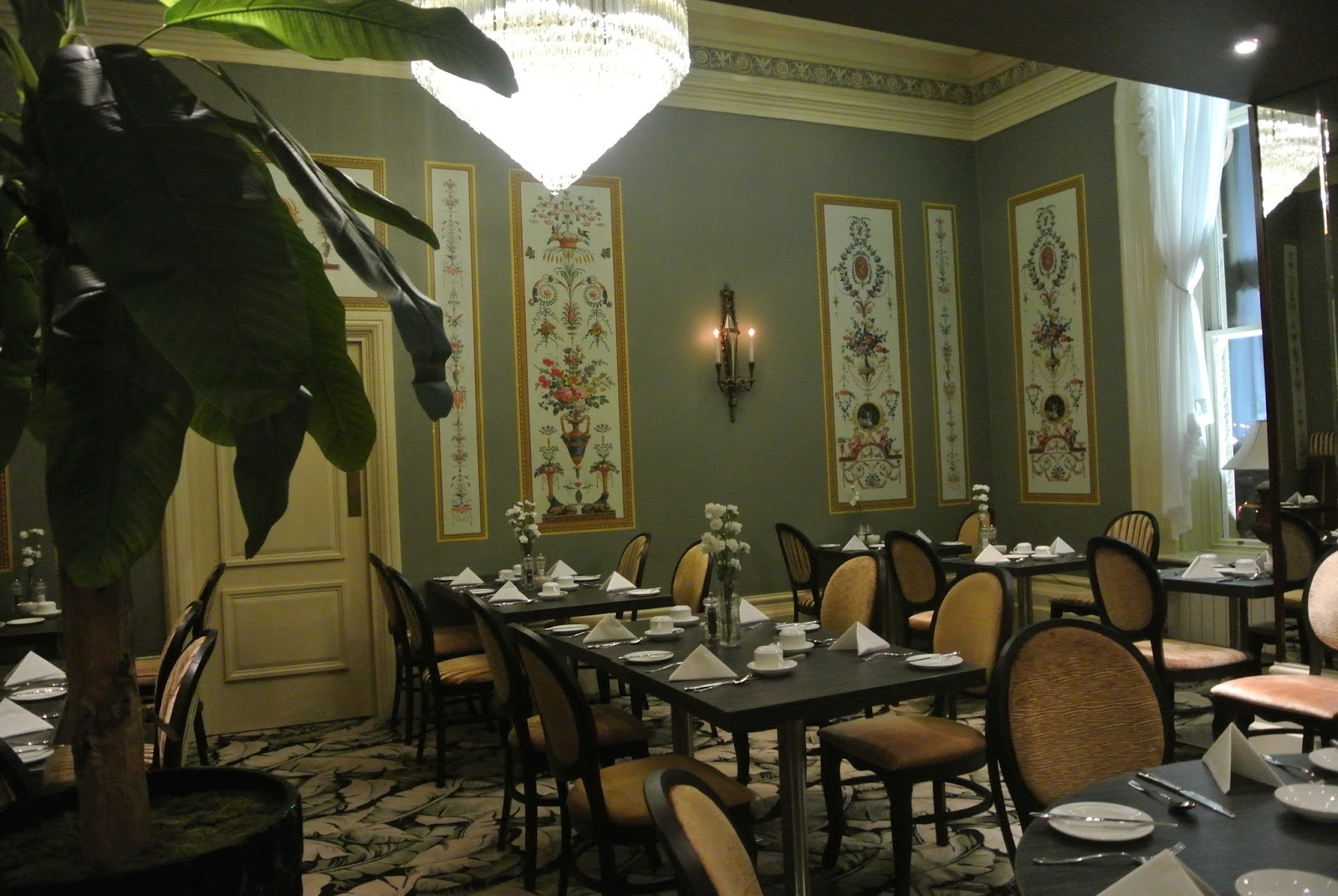 Grand Hotel Tynemouth Afternoon Tea Menu