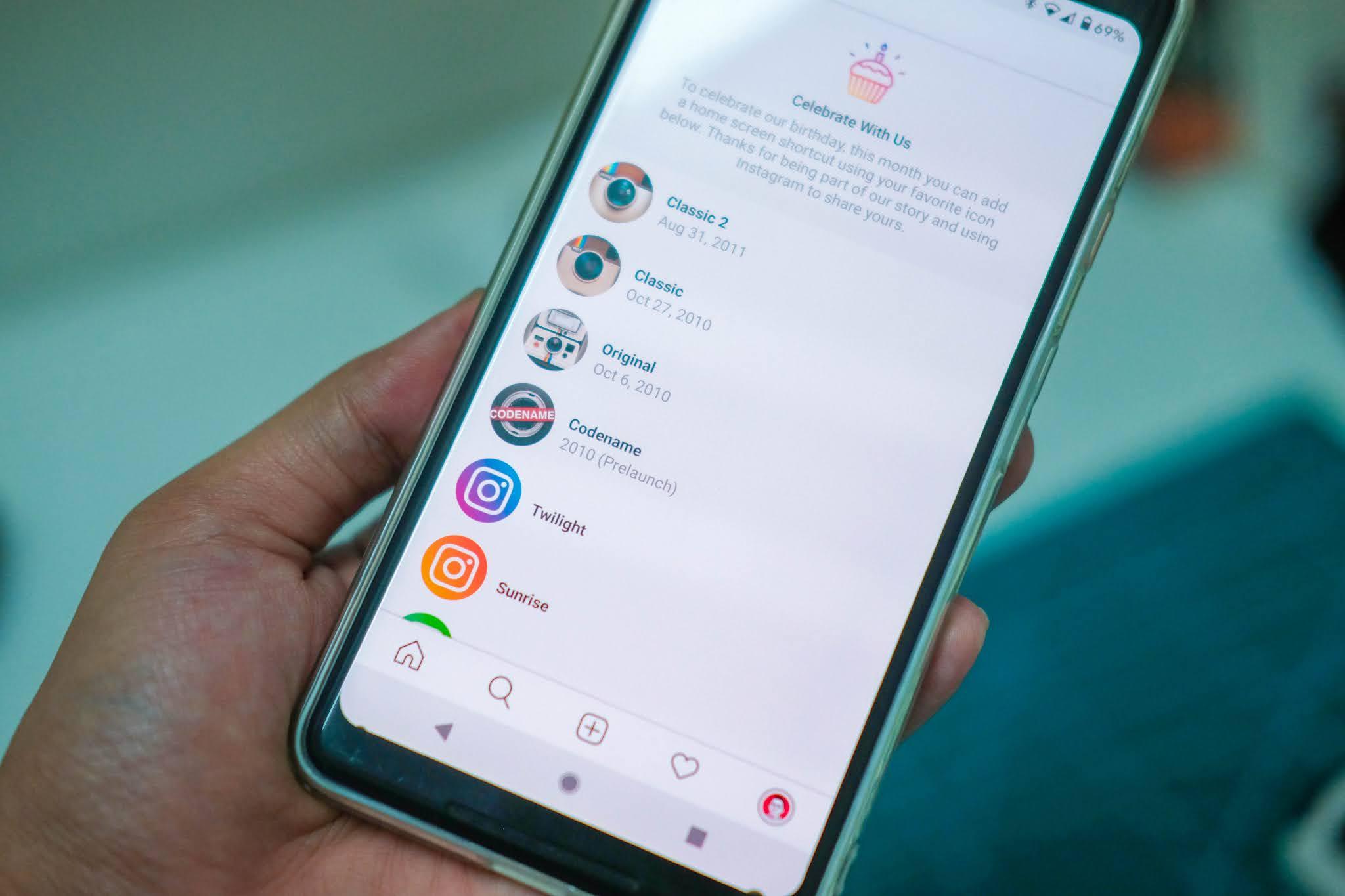 Cara Ubah Ikon Aplikasi Instagram Kepada Ikon Klasik