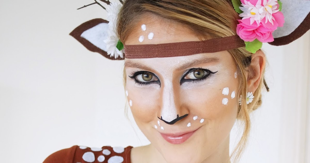 The Joy of Fashion: {Halloween}: Cute Homemade Deer Costume