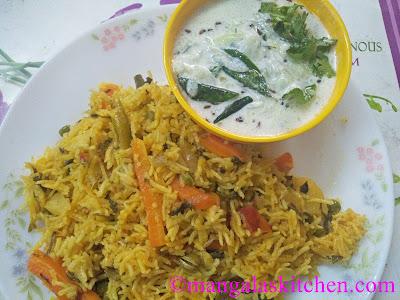 Chettinad Vegetable Biriyani Recipe