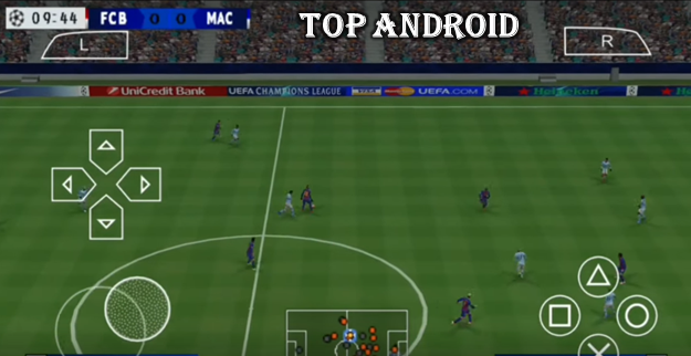 PES 2020 PPSSPP Camera PS4