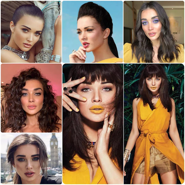 Amy Jackson Hairstyles