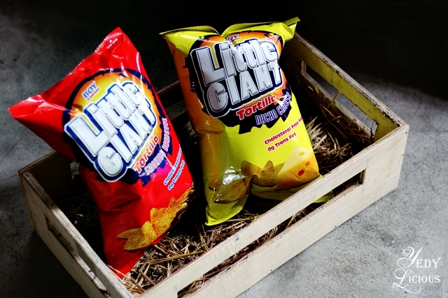 Little Giant Tortilla Chips, Boy Bawang New Products, Boy Bawang Best Local Snacks in the Philippines, Boy Bawang KSK Food Products Blog Review YedyLicious Manila Food Blog Yedy Calaguas