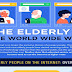 The Elderly & The World Wide Web #infographic
