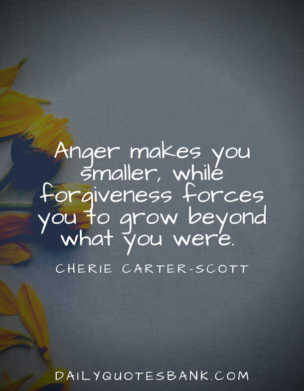 Inspirational Quotes About Forgiveness and Moving On