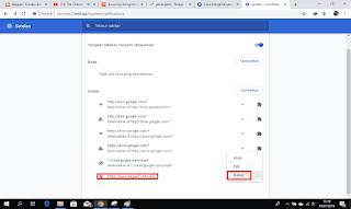 CARA MENGHILANGKAN NOTIFIKASI IKLAN DI GOOGLE CHROME PC