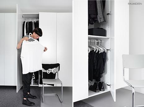 Kleiderschrank aussortieren und einräumen - so geht es richtig!