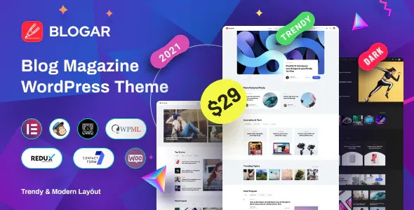 Best Blog Magazine WordPress Theme