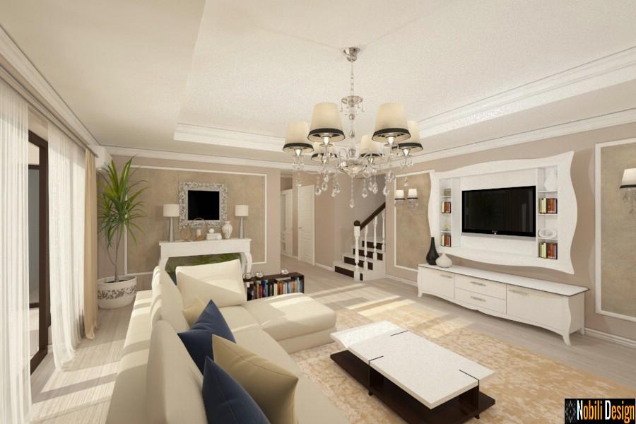Design interior case clasice de lux - Servicii designer de interior