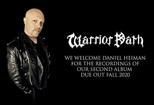 Ο Daniel Heiman είναι ο νέος τραγουδιστής των Warrior Path