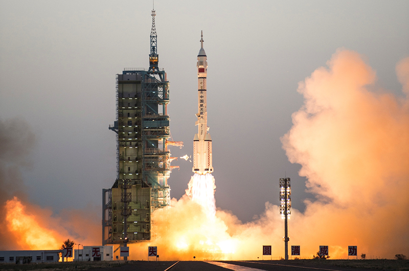 Haier Blast Off Their Space Refrigerator At Shenzhou XI mission